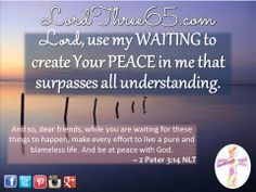 ~ 2 Peter 3:14 NLT  #LordThree65 LordThree65.com | Order your 2014 Lord Use Me Weekly Pocket Planner at LordThree65.com today! Like us on Facebook: LordThree65 | Follow us on Twitter: @Lord Three65 | Follow us on Instagram: LordThree65 | Follow us on Google+: LordThree65 | Follow us on LinkedIn