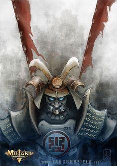 Mishima Warrior by IanSchofield