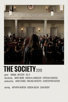 Alternative Minimalist Movie/Show Polaroid Poster - The Society - Iconic Movie Posters, Minimal Movie Posters, Minimal Poster, Iconic Movies, Titanic Film, Poster Wall, Poster Prints, Film Polaroid, Polaroids