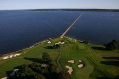 Golfing by the ocean at the Samoset Resort. Golfing does not get much better than this. Guests of the Berry Manor Inn can enjoy a special rate when tee times are booked through the inn.