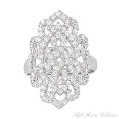 Ring Up The Bling Woman's Rings Fashion Queen- Fifth Avenue Collection :: Beautiful Jewellery :: We Create Beauty and Success