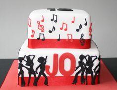 Jo's 18th Birthday disco cake