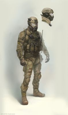 ArtStation - my concept art for crytek (us future soldier), Denis Didenko