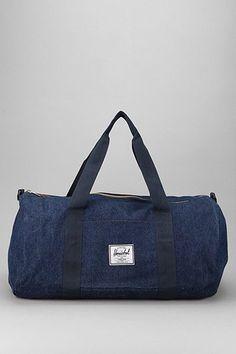 Herschel Supply Co. Sutton Denim Duffle Bag