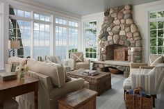 beach cottage decorating ideas | 20 Ideas for Tasteful Living Room Decoration