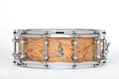 14 x 5.5 BRADY Jarrah Ply snare drum (Wandoo Burl satin finish).