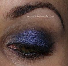 Maquillaje Nochebuena 2013 http://www.entrebrochasypaletas.com/2014/01/maquillaje-nochebuena-2013.html #makeup