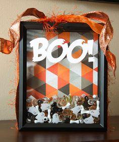 Kaminski's Creations: Boo! Shadow Box