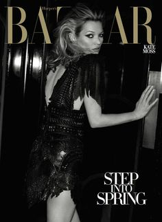 Kate Moss's Harper's Bazaar covers