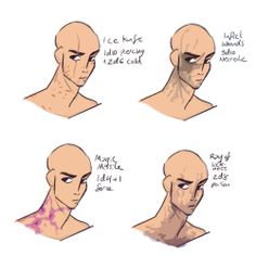 level spell scars for when your DM is feeling particularly vicious :) (Cantrip scars) lv spell scars level scars) level spell scars) level spell scars) level spell. Fantasy Character Design, Character Design Inspiration, Character Concept, Character Art, Body Reference Drawing, Art Reference Poses, Drawing Poses, Drawing Tips, Dnd Characters