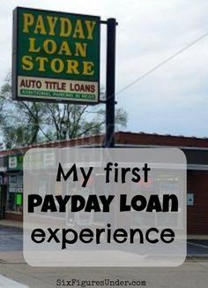 Payday loans make my blood boil. When I participated in FinX, a simulation to see what it's like to be unbanked or underbanked, I had to go into a payday loan place for the first time.