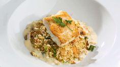 Aprenda a fazer uma receita de Filé de peixe com molho de pêssego