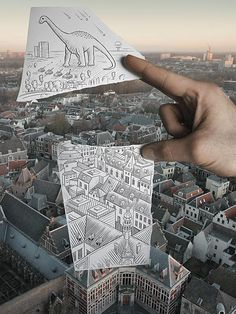 Pencil Vs. Camera Art by Ben Heine