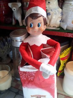Treats yummy enough for the elf on the shelf #holidayguide #cbias