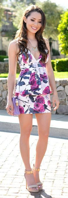 Fancy Florals - Classic Summer Outfits by Hapa Tim...