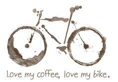 T-Shirt Coffee & Bike women / Seller& items BIKO - T-Shirt Coffee & Bike women - Bicycle Tattoo, Bicycle Art, Bicycle Design, Bicycle Shop, Velo Biking, Bicycle Quotes, Cycling Quotes, Bike Illustration, Bike Poster