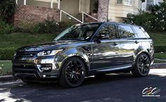 Range Rover Sport with Custom Wheels by CEC in Los Angeles CA . Click to view more photos and mod info.
