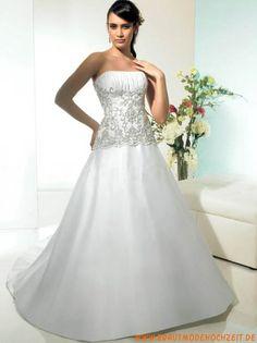 2012 stuttgart Brautmode aus Satin A-Linie online kaufen