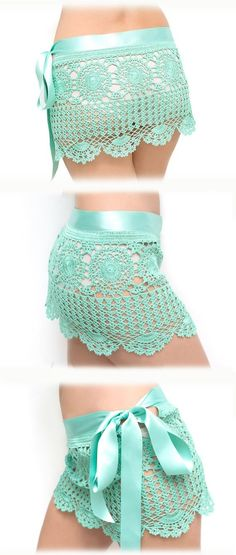 Crochet beach skirt PDF