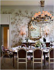 Designer Alexa Hampton Dining Room
