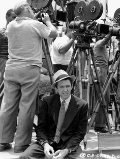 Jimmy Stewart on set of Mr. Smith Goes to Washington  + Camera Rigs Via @SmallHD