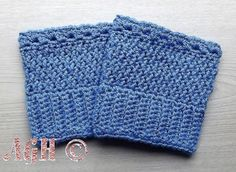 Easy Reversible Boot Cuffs ~ AG Handmades