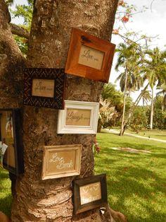 Fun wedding decor abounds at #CouplesResorts. #Jamaica #DestinationWeedding