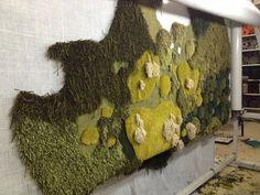 Alexandra Kehayoglou's extraordinary landscape rugs.