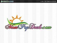 Website Logo design for Mom Pop Deals Website Logo, Unique Logo, Branding Your Business, Brand You, Logo Design, Pop, Logos, Creative, Popular