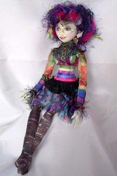 "OOAK Art Doll ""Miss Terri"" by Jan Horrox"