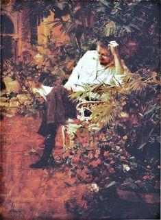 Richard Schmid - Self Portrait Reading