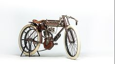 1909 Imperial Single Racer presented as lot S107.  #Mecum #EJCole #Motorcycles