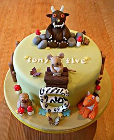 There's no such thing as a Gruffalo  Cake by Beside The Seaside Cupcakes