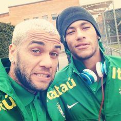 dani alves // neymar