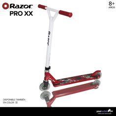 """Prepárate para las competencias del """"scootering"""" con el Pro XX de Razor.  A la venta en el showroom 3010 de Compupalace y página web, al mejor precio."""
