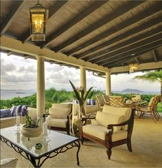With architectural inspiration from creative designer, Oliver Messel, this hilltop villa called Coccoloba is situated at 220 feet of elevation on 12 lush acres and boasts panoramic views of four bays on the small private island of Mustique, West Indies (one of a group of islands called the Grenadines). The entrance to the villa, situated …