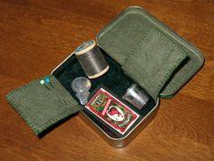 sewing kit altoid tin