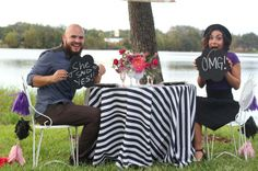 This picture captures all the cuteness of their proposal!
