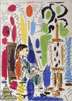 Pablo Picasso, Lithographie, 1960