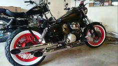 Honda shadow 125 bobber