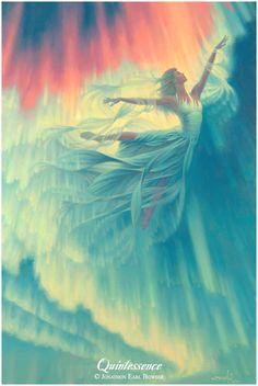 the Goddess Elemental Union, the Fifth Element, the Miracle of Transformation...(jonathonart.com)