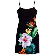 Image result for hawaiian cocktail dress