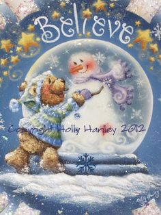 Believe Snowflake - Holly Hanley - Online Sales – Decorative Painting Supplies & Courses