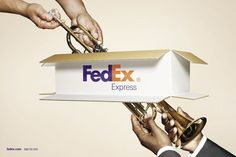 FedEx | #ads #adv #marketing #creative #publicité #print #poster #advertising #campaign < repinned by www.BlickeDeeler.de | Have a look on www.Printwerbung-Hamburg.de