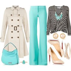 Love the teal pant!