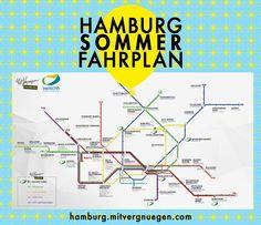 Die besten Plätze in Hamburg auf einer Karte