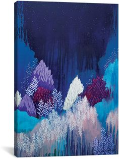 icanvasart Still The Night By Clair Bremner Canvas Print