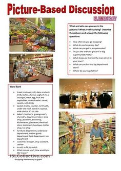 Describe the pictures and talk about your shopping habits using the questions and the word bank. It can be used on level A2 or B1. Pictures from google images. Thanks in advance for your kind comments. Hugs from Hungary!  - ESL worksheets