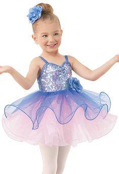 Weissman® | Sequin Satin Glitter Tulle Dress