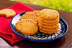 Healthier Peanut Butter Cookies (Gluten-Free, Low Carb) by HealthyIndulgencesBlog, via Flickr